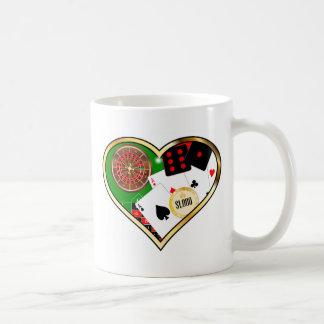 Love Gambling Coffee Mug