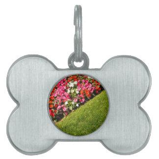 Love gardening pet name tags