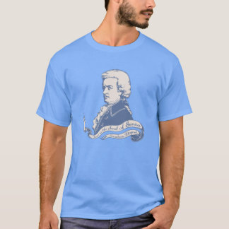 Love = Genius -Mozart T-Shirt