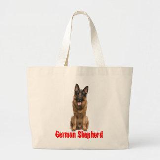 Love German Shepherd Puppy Dog  Canine Tote Bag