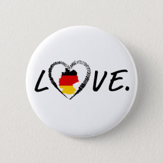 Love Germany. 2 Inch Round Button