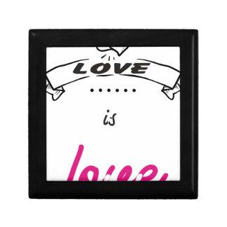 LOVE. GIFT BOX