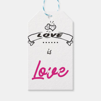 LOVE. GIFT TAGS