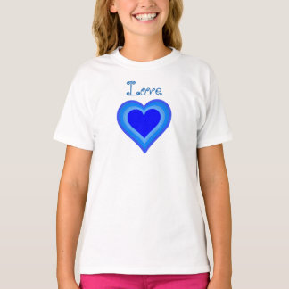 Love girl's t-shirt