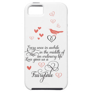 Love gives us a Fairy Tale Wedding iphone 5s case iPhone 5 Case