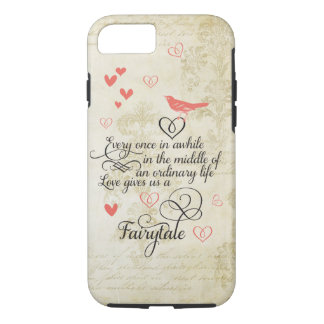 Love gives us a Fairy Tale Wedding iPhone 7 case