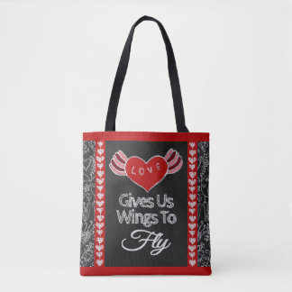 Love Gives Us Wings Tote