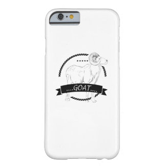 Love Goat Funny Gifts Vintage Style Barely There iPhone 6 Case