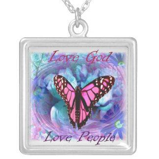 Love God, Love People Necklace
