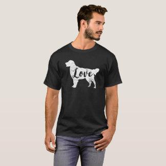 Love Golden Retriever T-Shirt Vintage Look