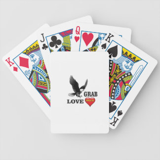 love grab fowl poker deck