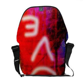 Love Graffiti Messenger Bag