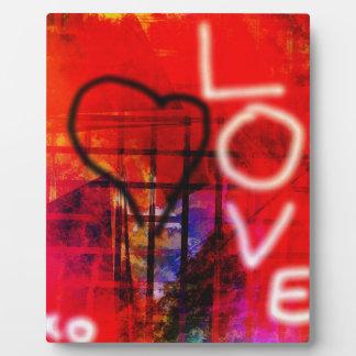 Love Graffiti Plaque