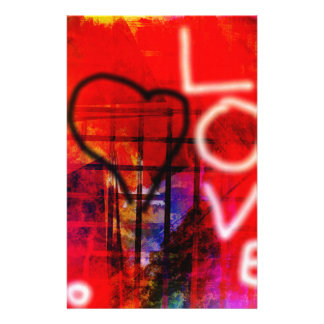 Love Graffiti Stationery