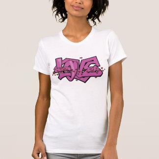 Love Grafitti Purple T Shirt