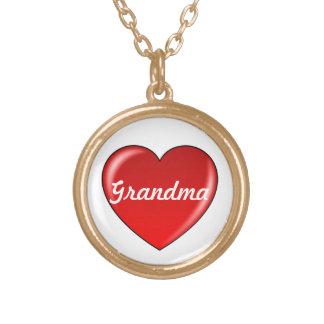 Love Grandma Heart Necklace
