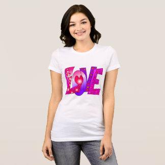 """Love"" graphic on Women's T-Shirt"