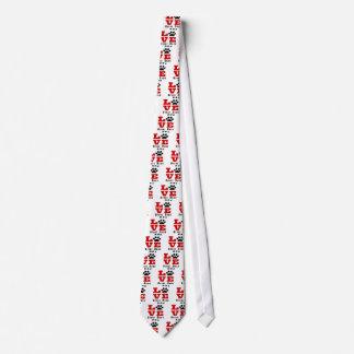 Love Great Dane Dog Designes Tie