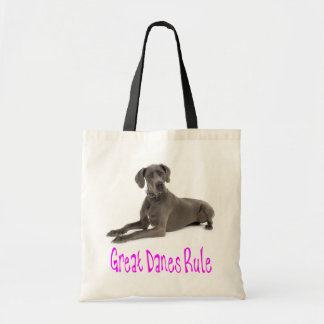 Love Great Dane Puppy Dog Tote Bag