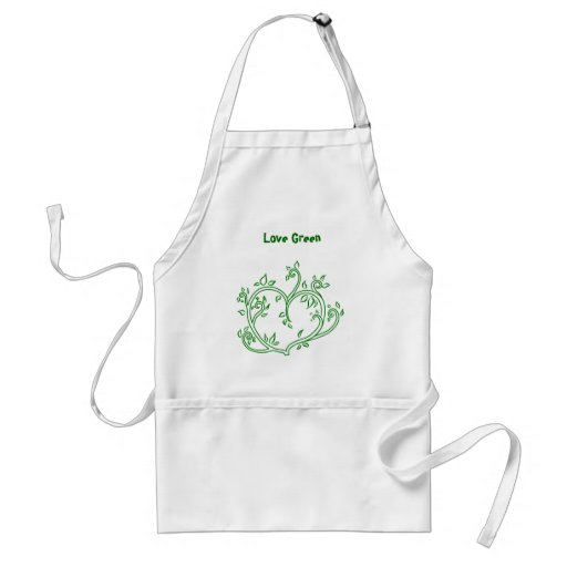 Love Green Aprons