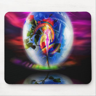 Love greetings by air mail mouse pad
