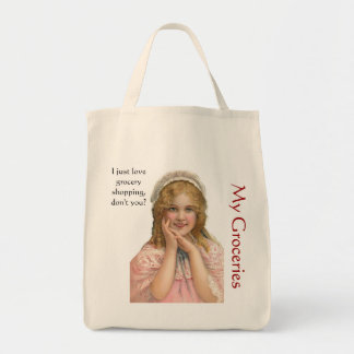 Love Grocery Shopping Tote Bag