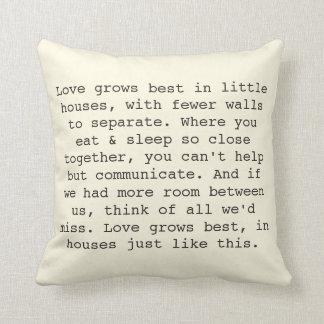 Love Grows Pillows