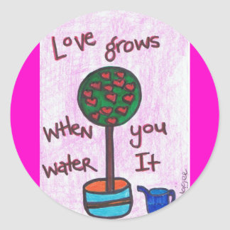 Love GrowS StiCkEr