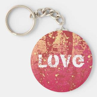 Love Grunge Urban Sunrise Keychain