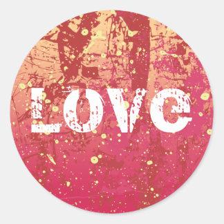 Love Grunge Urban Sunrise Sticker
