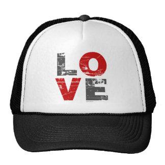 Love Grunge - Valentines Day Romance vintage Mesh Hats