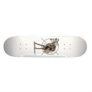 Love_Gun Custom Skate Board