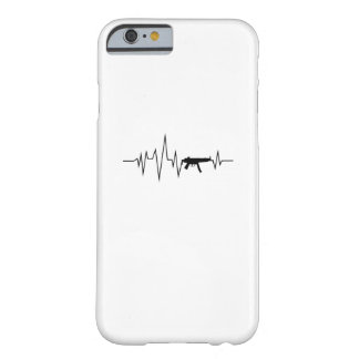 Love Gun Heartbeat Cool Gifts Barely There iPhone 6 Case