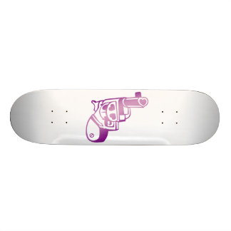 Love gun. skateboard deck