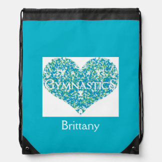 Love Gymnastics Drawstring Bag