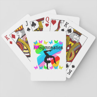 LOVE GYMNASTICS FOREVER DESIGN PLAYING CARDS