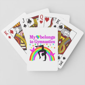 LOVE GYMNASTICS FOREVER PLAYING CARDS