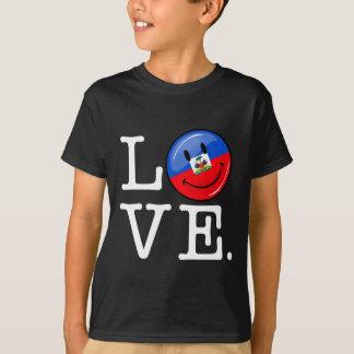 Love Haiti Smiling Flag T-Shirt