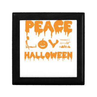 Love Halloween costume tshirt with skeleton, bats Gift Box