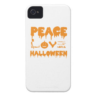 Love Halloween costume tshirt with skeleton, bats iPhone 4 Case-Mate Case