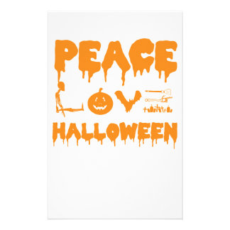 Love Halloween costume tshirt with skeleton, bats Stationery