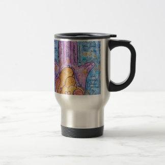 Love Hamsa Travel Mug