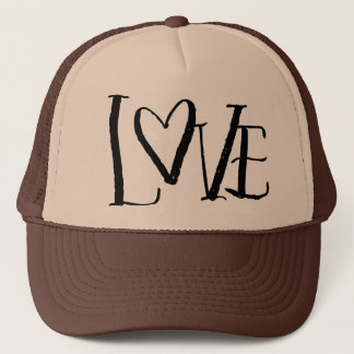 Love Hand Lettered Trucker Hat