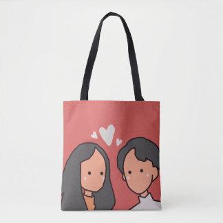 Love (Happy Valentine's Day) Tote Bag