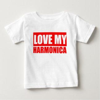 Love Harmonica Baby T-Shirt