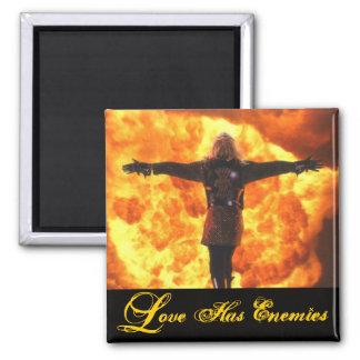 LOVE HAS ENEMIES- Magnet