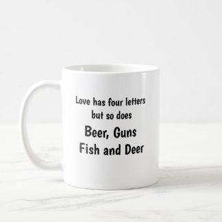 Love Has Four Letters Coffee Mug