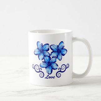 Love Hawaii Plumeria Coffee Mug