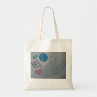 Love heals all tote