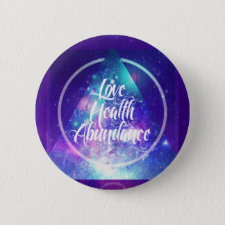 love-health-abundance zen series 2 inch round button